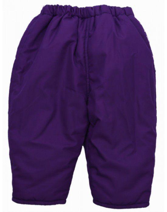 Baby Hooded Two Piece Suit 7  Dark Purple