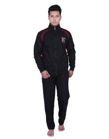 Mens Black Track Suit