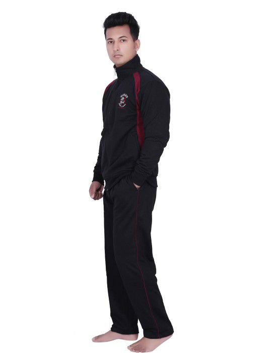 Mens Black Track Suit