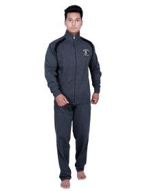 Mens Grey Track Suit