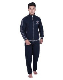 Mens Sporty Navy Track Suit
