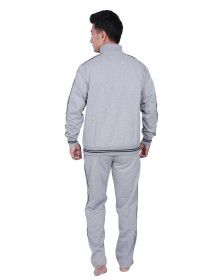 Mens Sporty Grey Track Suit
