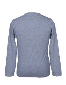 Mens Round Neck Full sleeves L. Grey T shirt