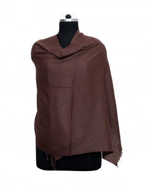 Purewool Womens Plain stole