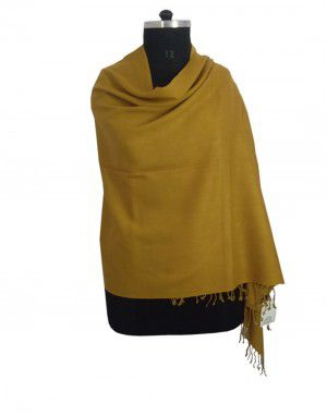 Plain Stole Yellow