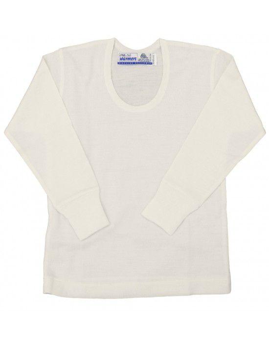 Baby Inner Vest Woolblend FSBody warmers Cream