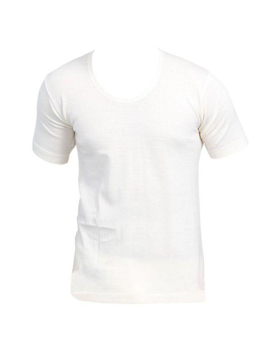 Mens Woolblend Vest HS Body warmers Cream