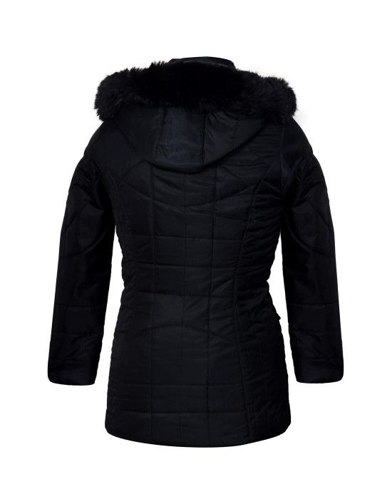 Ladies long Jacket Black