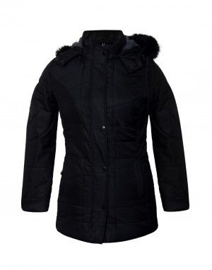 Ladies Jacket 31 inch long Black Plus Size