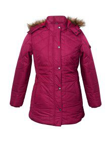 Ladies Jacket 31 inch long Mulberry Plus Size