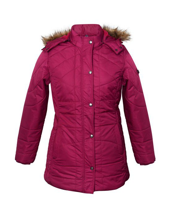 Ladies long Jacket Mulberry